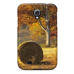 New Premium DDQnCQc1498dOoWg Case Cover For Galaxy S4/ Beautiful Hay Bails In Field Protective Case Cover