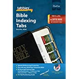 Tabbies Reflections of You Series Bible Indexing Tabs, Old & New Testaments, 90 Tabs - 66 Books, 11 Ref, 6 Per, 7 Write-on, Coffee House Palette (58361)