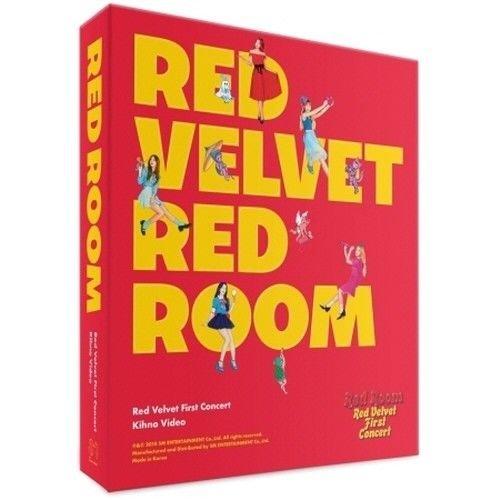 - Red Velvet - [1st Concert Video Kihno Red Room] 1ea Kit+1ea Kihno Bag+17p Photo Postcard+1p Letter Writing Paper Set K-POP Sealed