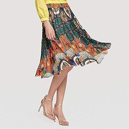 MJY Productos para adultos Falda Falda larga Cintura elástica ...