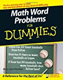 Math Word Problems for Dummies, Mary Jane Sterling, 0470146605