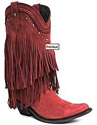 LIBERTY BLACK Womens Vegas Rojo Western Boots