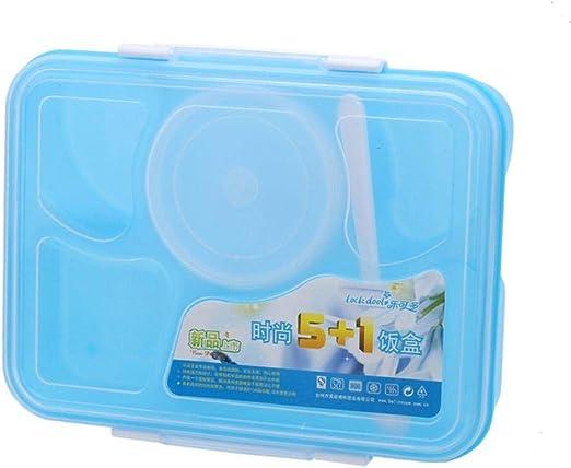 DYTJ-TOOLS Caja Microondas 5 Compartimentos Con Un Tazón De Sopa ...