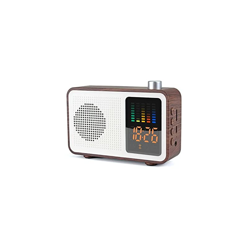 Miaboo Portable Bluetooth Speaker, Woode