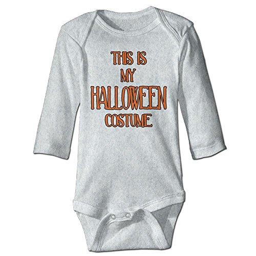 Fashion Baby Boys & Girls This Is My Halloween Costume Long-sleeve (12 Month Halloween Costume Walmart)