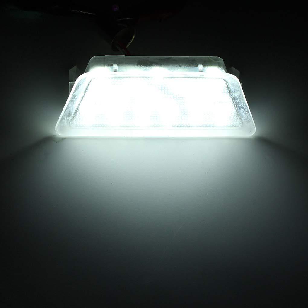 Demino Bianco 18 LED Luminoso Eccellente Auto Auto Numero Targa Posteriore di Ricambio Luce per Vauxhall Opel Astra G MK4 1998-2004