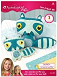 American Girl Crafts Sew Stuff Kit, Raccoon