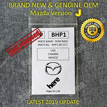 Original sd Card Updated 2020 2019 2018 Mazda SD Navigation Card BHP166EZ1J Mazda 3 6 CX-3 CX-5 CX-9 USA//Canada//Mexico