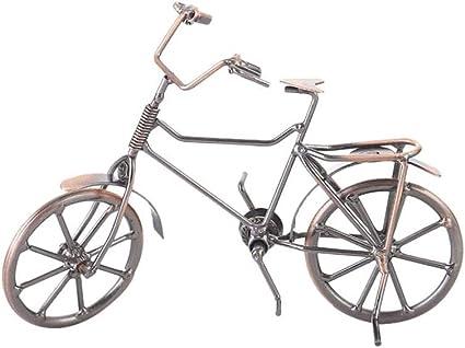 WYJBD Bicicleta de Metal Estatua artesanía, Regalo de ...