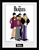 GB eye Ltd 1-Piece 16 x 12-inch The Beatles Yellow Submarine Group Framed Photograph