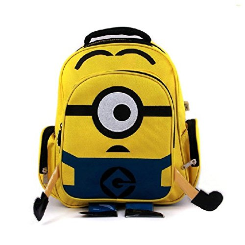 Valentoria®[Kid s Backpack Baby Backpack]50%off!!!Back to School Supplies]despicable Me 2 Backpack Children School Bag (Minion)great Gifts for Nephew Niece Kids