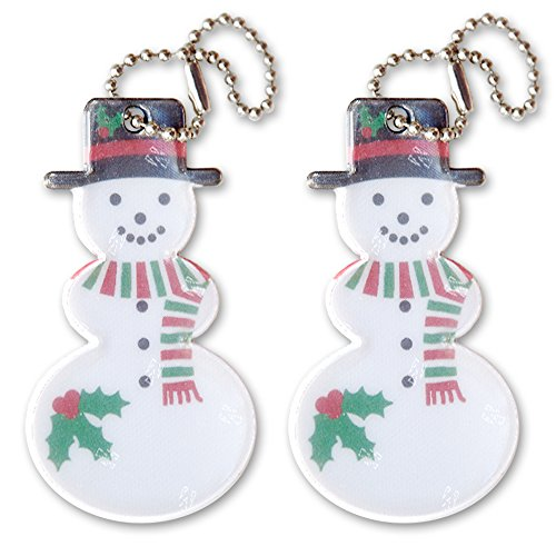 funflector Reflector - Snowman Holly 2-pack