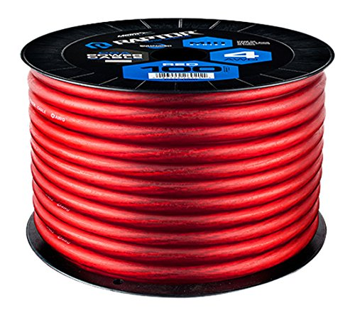 Raptor R4R4-100 MID SERIES - Power Cable (Red) by Raptor (Image #1)