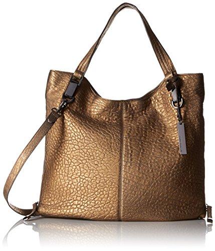Vince Camuto Riley Tote Shoulder Bag, Vintage Brass, One Size