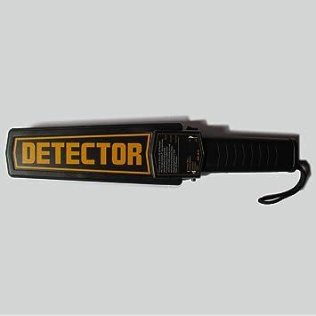 Generic metaldetector cena precisa mano uñas detector de metales de Seguridad Portátil Sensible escáner vibración con alarma de voz: Amazon.es: Jardín