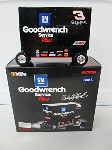 Action 1999 Dale Earnhardt GM Goodwrench Service Plus Pit Wagon Bank 1 of 3000 ()