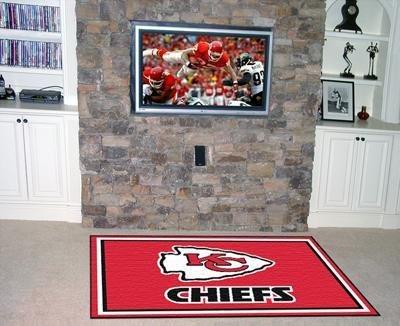 Chiefs Kansas City Carpet - NFL - Kansas City Chiefs 4 x 6 Rug
