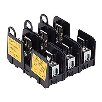 Portafusibles, bloque de fusibles, 600 V, 30 A, Clase J, caja), 3 POLE: Amazon.es: Amazon.es