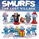 Smurfs The Lost Village Cake Topper | 12 Figure Set | By ToysoutletUSA