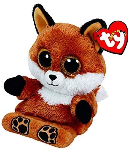 TY Beanie Boos - Peek-A-Boos Phone Holder - Sly The Fox by TY (Beanie Boo Medium Fox)