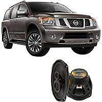 Fits Nissan Armada 2004-2015 Front Door Factory Replacement Harmony HA-R69 Speakers New