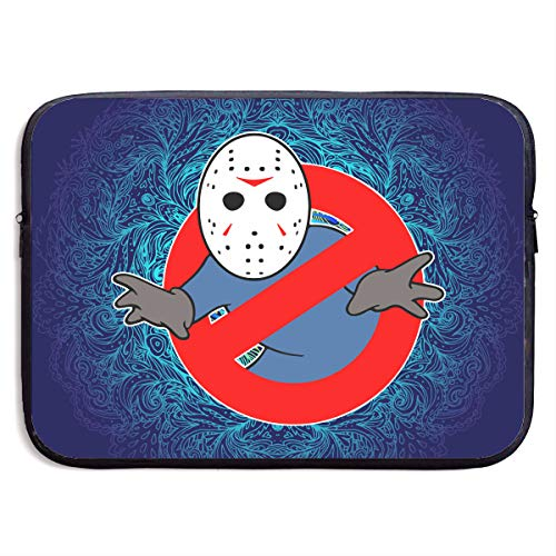 Cheny Ghostbusters Jason Voorhees Fashion Computer Liner Sleeve Case Portable Laptop Protective Bag Cover Handbag for MacBook Pro/MacBook Air/Asus/Dell]()