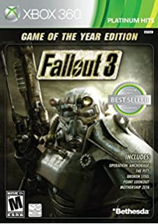 Amazon com: Fallout 3: Game of the Year Edition - Classic