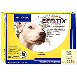 Effitix Topical solution for Dogs Up to 22.9 lbs. 6 Months