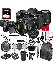 $1298 » Nikon D7500 DSLR Camera Kit with 18-140mm VR Lens   Built-in Wi-Fi   20.9 MP CMOS Sensor   SnapBridge Bluetooth Connectivity   Extreme Speed 64GB Mempry Card (27pc Bundle)