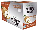Crispy Green 100% All Natural Freeze-Dried Fruits, Asian Pear, 0.36 Ounce (12 Count)