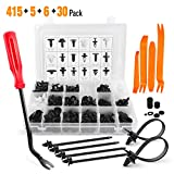 GOOACC 415 Pcs Car Retainer Clips & Fastener