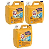 ARM & HAMMER Clean Burst Liquid Laundry Detergent, 255 fl oz 3 Pack