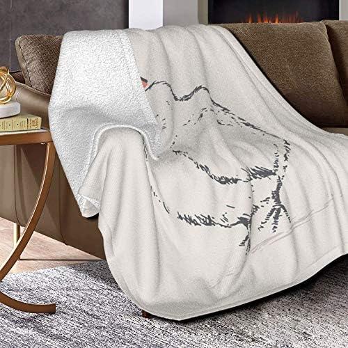 Couverture polaire pour enfant ou Eteri - Ultra douce et moelleuse - Pour lit et salon - 127 x 101,6 cm