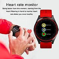 Hanbaili Smartwatch Reloj Inteligente con Ranura de Tarjeta SIM/TF ...
