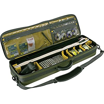 Allen Cottonwood Fishing Rod & Gear Bag, Hold up to 4 Fishing rods by Allen Company