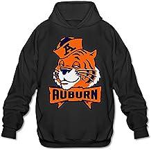 Auburn University A Mascot Hoodie For Men Size M Black