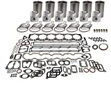 KIT ENGINE JD John Deere 4055 4255 4455 4555 4560 4755 4760 7800 8100 8200 8300 8570 7700 9960 9965 9970 9500 9600 9500SH CTS 2056 2058 2064 2066 6610 740E 740G 748E Tractor Cotton Picker Combine Forage Harvester Loader Skidder Excavator