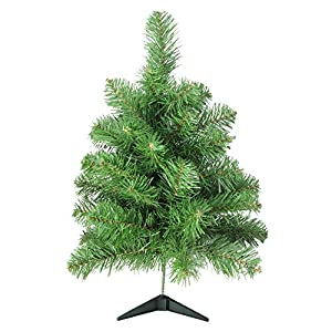 "Northlight 18"" x 10"" Noble Pine Artificial Christmas Tree - Unlit 110"