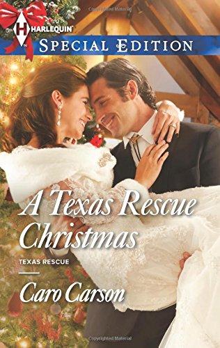 book cover of A Texas Rescue Christmas