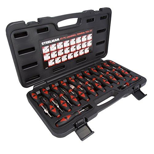 STEELMAN 95839 23-Piece Universal Terminal Tool Kit (Wire Terminal Removal Tool compare prices)