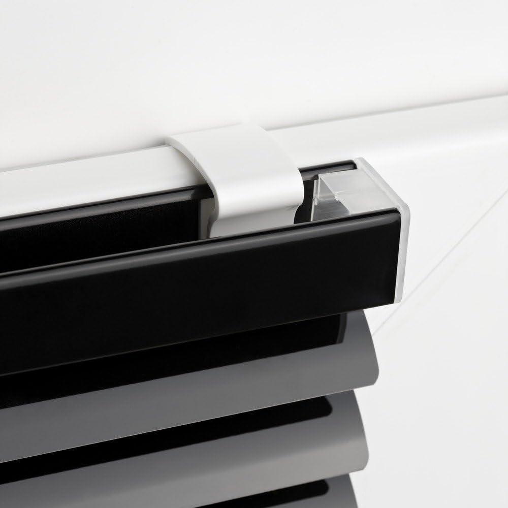 60x220 cm Alu-Jalousie Jalousette zum Klemmen ohne Bohren Easy-Shadow Standard Klemmfix Aluminium Jalousie 60 x 220 cm wei/ß