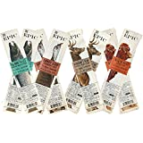8 Pack Assortment: Epic Snack Steak Strip Paleo Jerky Wagyu Beef, Turkey Cranberry, Venison Salt and Pepper Steak, Smoked Salmon Maple
