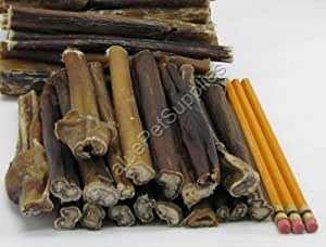 valuebull 100 odor free 6 inch thick bully sticks pet chew treats pet supplies. Black Bedroom Furniture Sets. Home Design Ideas