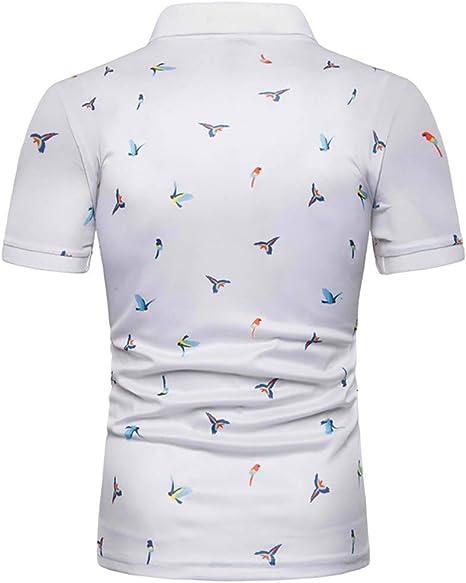G&Armanis Shop Camisa de Polo con Estampado de Hombre, Camisa de ...