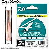 ダイワ(Daiwa) UVFエメラルダスデュラセンサー4ブレイドホワイトSi2 100m