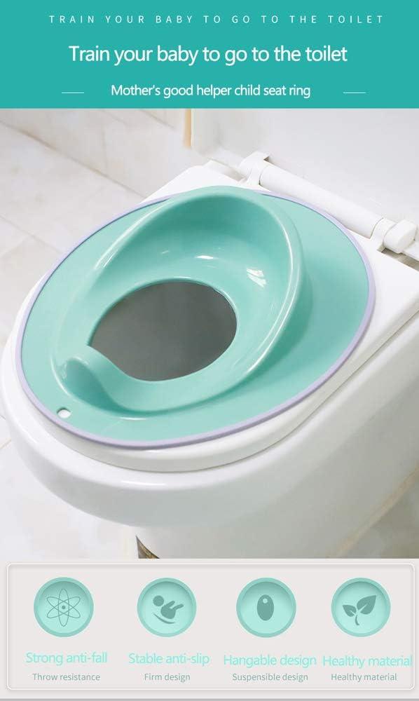 ZJIAN WC para Beb/é Taburete de pie Robusto antica/ída//Estable Antideslizante//dise/ño Colgante//Material Saludable//Reductor Infantil Adecuado para Ni/ño ni/ña