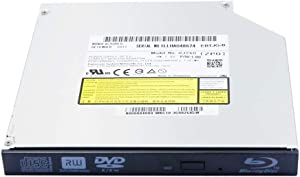 Laptop Internal Blu-ray Burner 12.7mm Tray Loading SATA Optical Drive, for Panasonic UJ260 Matshita BD-MLT UJ-260, Dual Layer 6X 3D BD-RE DL TL BDXL Blue-ray Disc 8X DVD+-RW RAM CD-R Writer