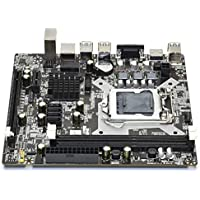 Nrpfell H81 Motherboard LGA1150 DDR3 Dual Channel Support 2X8G Memory for LGA 1150 Series