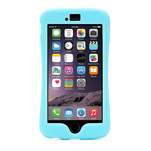 Griffin Back Case - Slim - Apple iPhone 6 Plus - Türkis/Hellgelb