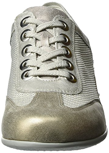 Waldläufer Hadara - Zapatos Mujer Gold (lightgold)